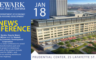 Details of Transformative Park and Development Project in Downtown Newark