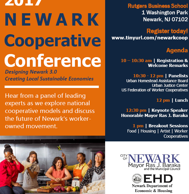 Newark Kicks Off Small Business Week with First Annual Newark Cooperative Conference