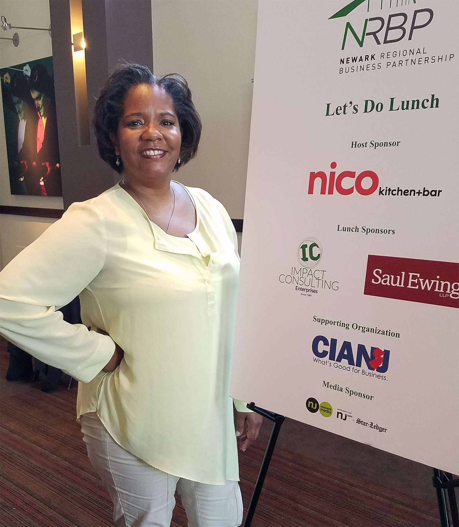 Impact president and CEO, Cheryl McCants